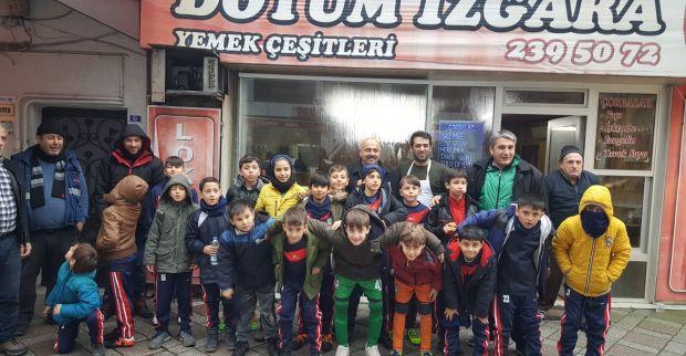 Çenedağspor'a Doyum Izgarada yemek