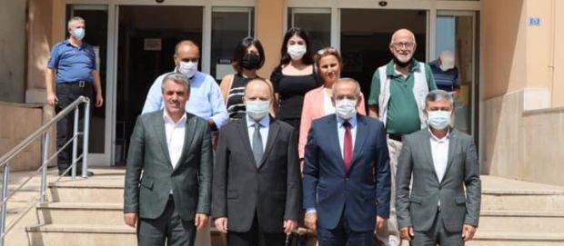 CHP Derince, Akar ile Kaymakam'ı ziyaret etti