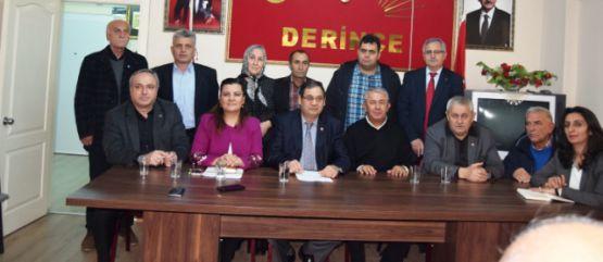 CHP Derince Emek Bürosu'nu tanıttı