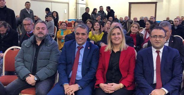 CHP Derince ilçe kongresinde başkan Birkan Koçak oldu