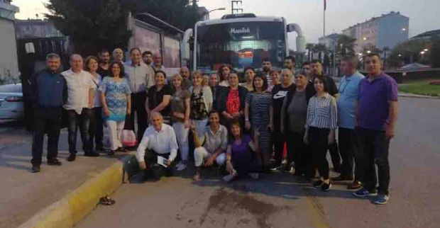 CHP Derince, İstanbul seçimlerine desteğe gitti