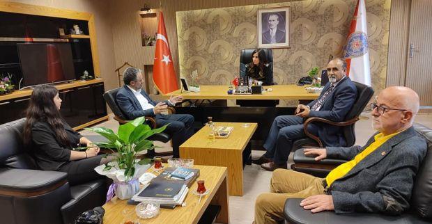 CHP Derince Örgütünden Şen'e Ziyaret