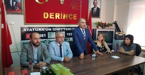 CHP Derince partide bayramlaştı