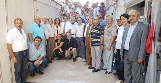 CHP DERİNCE'DE HÜRRİYET'Lİ BAYRAMLAŞMA