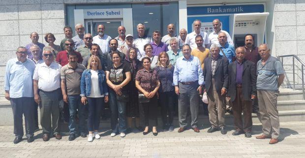 CHP  DERİNCE'DEN İMAMOĞLU KAMPANYASINA DESTEK