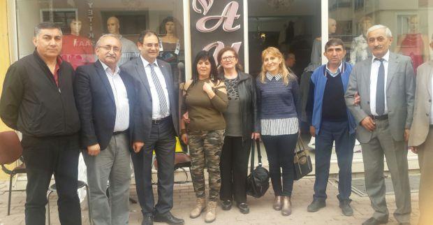 CHP'den 60 Evlere ziyaret