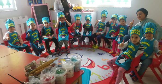 Çocukça Düşler yeni kadrosu ve yeni yerinde Körfezkent'te