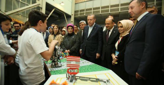 Cumhurbaşkanı Erdoğan, Bilim Merkezi'ni açtı
