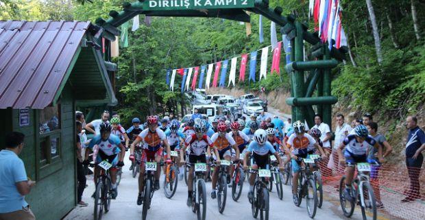 Dağ bisikleti yarışları gözleri Kocaeli'ne çevirdi