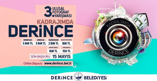 DERİNCE BELEDİYESİ'NDEN ÖDÜLLÜ FOTOĞRAF YARIŞMASI