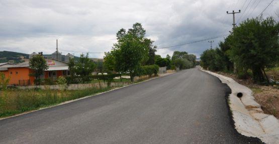 Derince Çavuşlu-İshakçılar köy yolları yenilendi