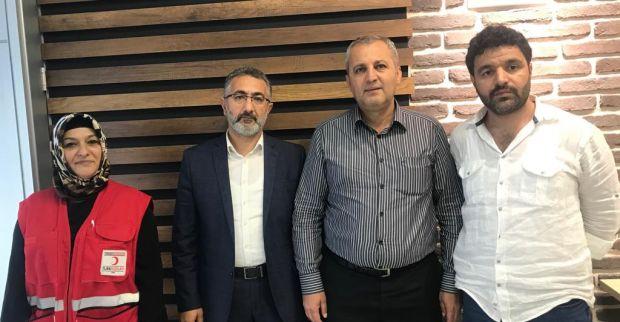 Derince Kızılay'ın yeni başkanı Hasan Malo