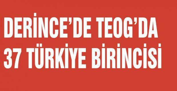 DERİNCE 'NİN 37 GURURU