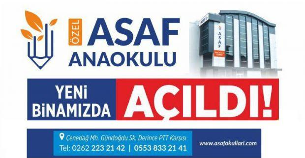 """Derince'de Eğitimin Gelişen Yüzü """"ÖZEL ASAF OKULLARI"""""""