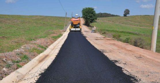 Derince'de Omurlar ve Sofular arasına asfalt