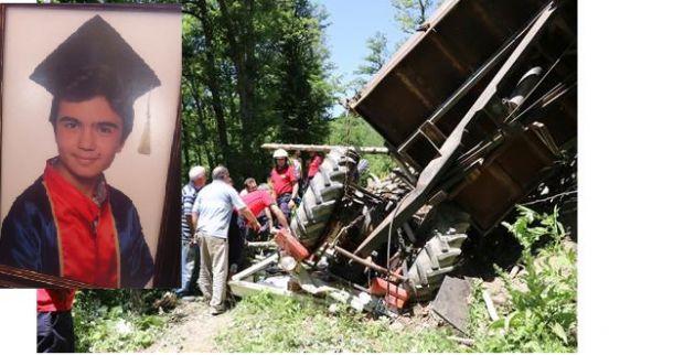 Derinceli Akif kaza kurbanı oldu