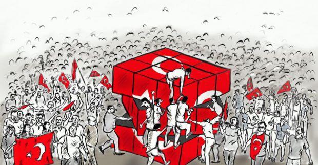 DERİNCELİ KARİKATÜRCÜ KONYA'DAKİ YARIŞMADA 3.OLDU
