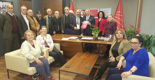 DİSK Emekli Sen'den Sarıbay'a ziyaret
