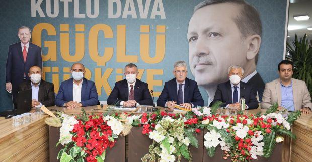 """Ellibeş: """"Muhalefet kötü rüya görmeye devam etsin, biz esnafımızın yanındayız"""""""