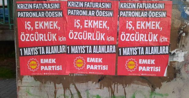 Emek Partisi 1 Mayıs'a çağırıyor