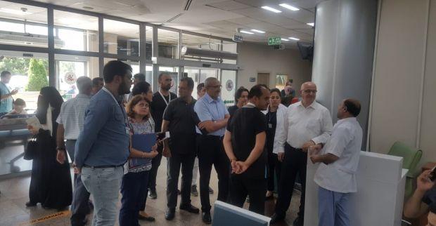 Ergüney'den  SBÜ Derince Eğitim ve Araştırma Hastanesi'ne ziyaret