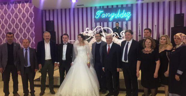 Fedai Kaplan oğlunu evlendirdi