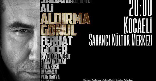 """Ferhat Göçer  """"Aldırma Gönül"""" için Kocaeli'de gala yapacak"""