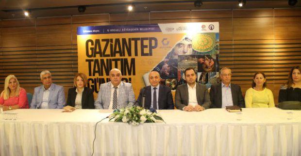 Gaziantep'e dair her şey Kocaeli'nde
