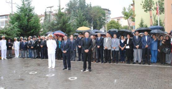 Gaziler günü için tören yapıldı