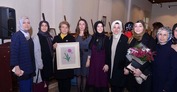 Geleneksel Türk Süsleme Sanatları  Yılsonu Sergisi açıldı