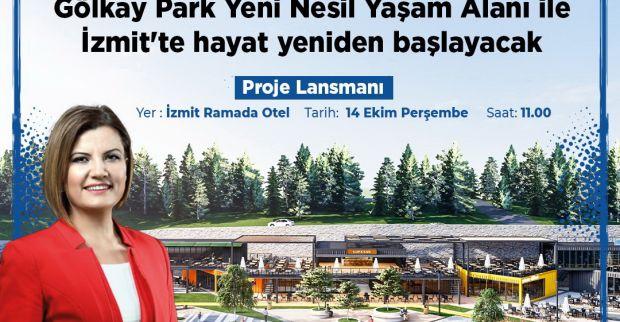 Gölkay Park Yeni Nesil Yaşam Alanı  Proje Lansmanı yarın yapılacak