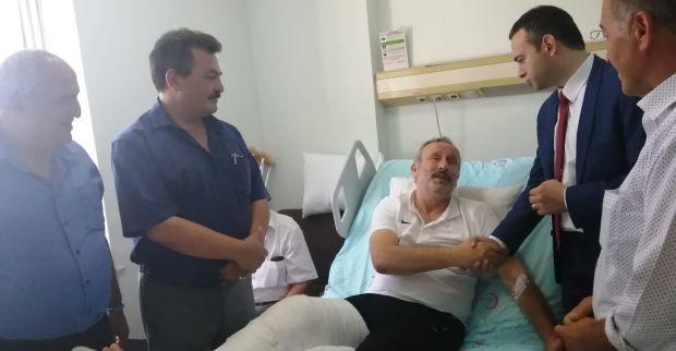 GÜRPINAR'DAN ALİ HAYDAR BULUT'A ZİYARET