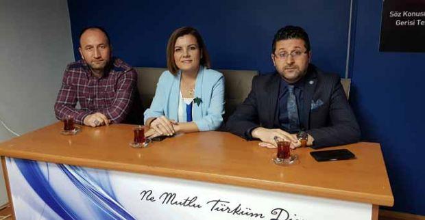 Hürriyet Türk Eğitim Sen'i ziyaret etti