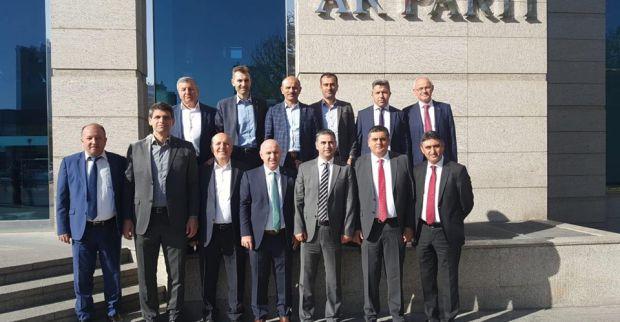 İbrahim Şirin Genel Merkez'de Başkanlar toplantısında