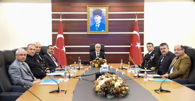 İl Güvenlik Ve Asayiş Koordinasyon Toplantısı Sayın Vali Vekilimizin Başkanlığında Gerçekleştirildi