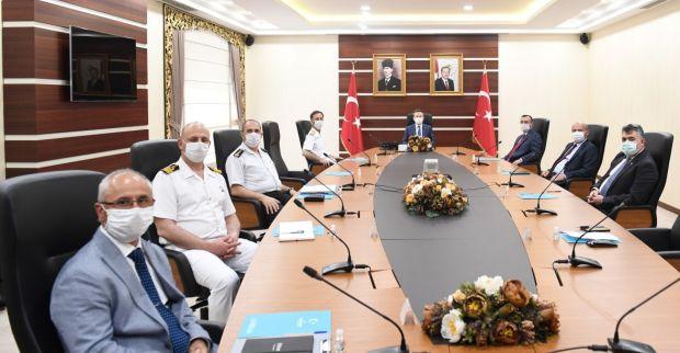 İl Güvenlik Ve Asayiş Koordinasyon Toplantısı Sayın Valimizin Başkanlığında Gerçekleştirildi