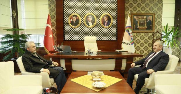 İl Müftüsü Doğan'dan  Başkan Baran'a ziyaret