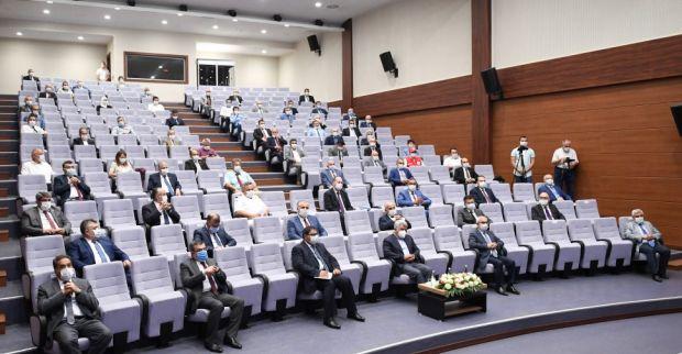 İl Pandemi Kurulu 5. Toplantısı Vali Seddar Yavuz'un Başkanlığında Gerçekleştirildi.