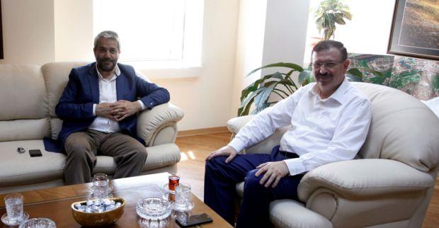 İlhan Bayram'a ilk ziyaret Ergün'den