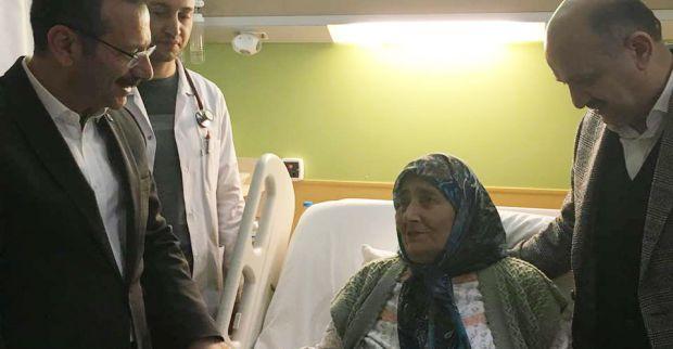 Işık'tan Muhtar Ekerer'in annesine ziyaret