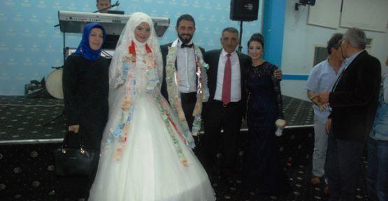İsmail Çelik oğlunu evlendirdi