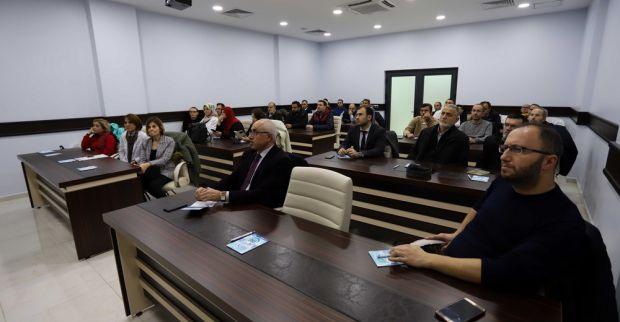 """İSU'DAN PERSONELİNE 'ERGONOMİ""""SEMİNERİ"""