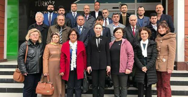 İYİ Parti Derince'de Tolu seçilmiş başkan