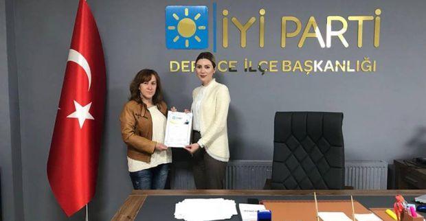 İYİ Parti Dumlupınar Mahallesi Temsilcisi atandı