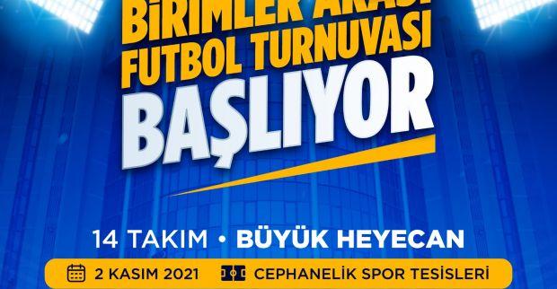 İzmit Belediyesi Birimler Arası Futbol Turnuvası başlıyor