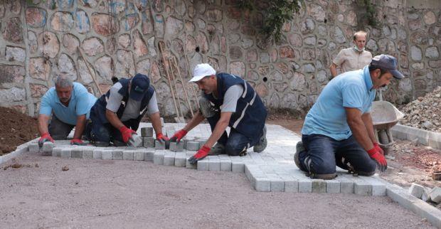 İzmit Belediyesi, Cedit'e  yeni park kazandırıyor