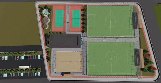 İzmit Belediyesinden  spor kompleksi hamlesi