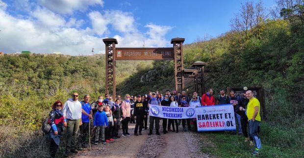 İzmit Belediyesinden tarih ve sporu bir araya getiren yürüyüş