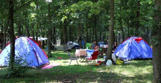 Kampçıların gözde mekânı Ormanya