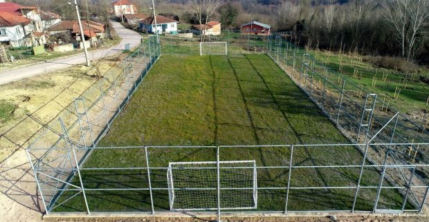 Kandıra'nın köylerine futbol sahası
